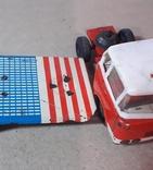 Машина грузовик+прицеп SpecialtransportMS Brandenburg ГДР GDR 1960-е жесть жестяная, СССР, фото №10