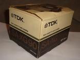 Коробка от кассет TDK SA -XG90, фото №5