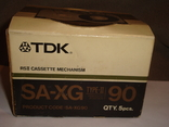 Коробка от кассет TDK SA -XG90, фото №6