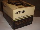 Коробка от кассет TDK SA -XG90, фото №7