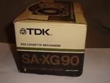 Коробка от кассет TDK SA -XG90, фото №8