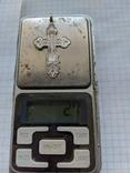 Крестики нательные 19 век серебро и золото, фото №7