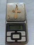 Крестики нательные 19 век серебро и золото, фото №8