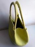 Эко-сумка плетёная, и натуральной кожи., фото №5
