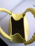 Эко-сумка плетёная, и натуральной кожи., фото №6