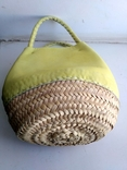 Эко-сумка плетёная, и натуральной кожи., фото №7