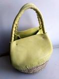Эко-сумка плетёная, и натуральной кожи., фото №9