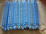 Роз'єм МРН-32-1 (розетка) 50шт сині, фото №2