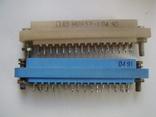 Роз'єм МРН-32-1 (розетка) 50шт сині, фото №3