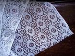Отрез кружевной ткани винтаж 0,9х2,5 м, фото №4