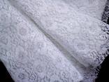 Отрез кружевной ткани винтаж 0,9х2,5 м, фото №9
