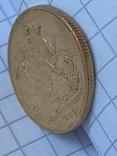 Великобритания золотой соверен 1880 г., фото №6
