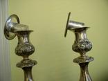 Два підсвічники ,срібло 84 пр,Одесса., фото №3
