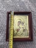 Икона Богородицы 16х14, фото №6
