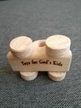 Машинка игрушка дерево самодельная, фото №3