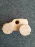 Машинка игрушка дерево самодельная, фото №4