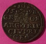 1598 год, 3 гроша, Рига., фото №6