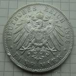 5 марок, 1896 год, Гамбург,, фото №9