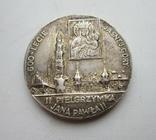 Медаль 2-го паломничества Папы Иоанна Павла II ''Реверс', фото №2