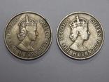 2 монеты по 100 милс, 1955 г Кипр, фото №3