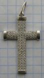 Крестик. Серебро 925 пр. Вес - 2,68 г., фото №3