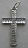 Крестик. Серебро 925 пр. Вес - 2,68 г., фото №6
