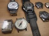 Часы разные и коробка для часов, фото №8