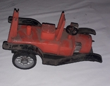 Ретро машинка СССР игрушка КРУГОЗОР ,на реставрацию, фото №4