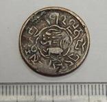 Медная монета старой Индии, фото №2