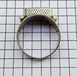 Перстень 8 грамм. Янтарь пейзажный, фото №8