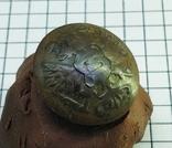 Пуговица с накладкой на орлах Р.И., фото №4