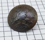 Пуговица с накладкой на орлах Р.И., фото №7