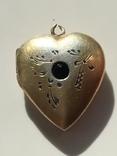 Серебряный кулон с Изумрудом, фото №7