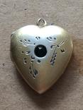 Серебряный кулон с Изумрудом, фото №8