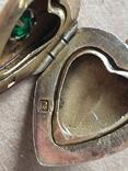 Серебряный кулон с Изумрудом, фото №11