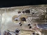 Икона  Введение во храм в серебряном окладе  84, фото №5