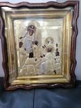 Икона  Введение во храм в серебряном окладе  84, фото №2