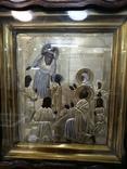 Икона  Введение во храм в серебряном окладе  84, фото №10