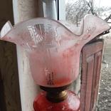 Керосиновая лампа 58 см начало 20 века, фото №7