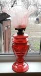 Керосиновая лампа 58 см начало 20 века, фото №2