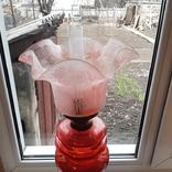 Керосиновая лампа 58 см начало 20 века, фото №10