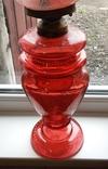 Керосиновая лампа 58 см начало 20 века, фото №11