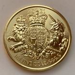 100 фунтов 2021 г. Британия (31,1 г. 999,9), фото №5