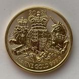 100 фунтов 2021 г. Британия (31,1 г. 999,9), фото №7