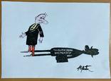 "Карикатура М.С. Рябинина ""Податковий Інспектор"", фото №2"