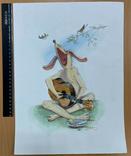 "Карикатура М.С. Рябинина ""Гитарист"", фото №3"