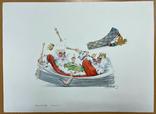 "Карикатура М.С. Рябинина ""Неуживчивые короли"", фото №3"