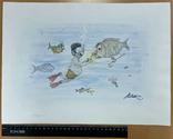"""Карикатура М.С. Рябинина """"Закурим?"""", фото №3"""