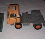 Грузовая машинка времён СССР длина 23 см., фото №6