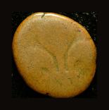 Французкая Индия Пондишери 1/2 дуду 1720, фото №2